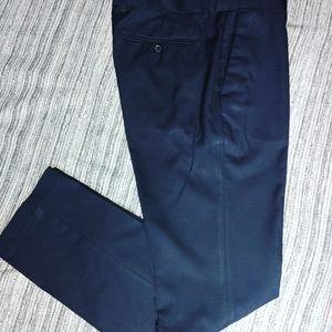 H&M Men Dress suit jacket pant slim fit blue 34R